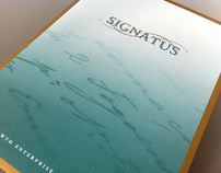 Signatus Identity Design and Stationary