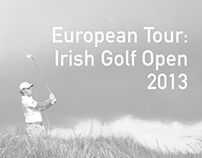 European Tour: Irish Golf Open 2013