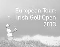 European Tour: Irish Golf Open 2013
