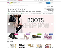 Shu Crazy ebay shop design