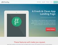 Flat Landing - Responsive Product Landing Template