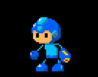 Pixel Robot Masters (Megaman)