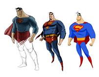 JLA - Concept Characters Design