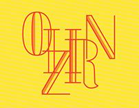 Horizon typography