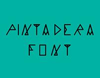 Pintadera font