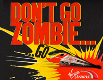 Don't Go Zombie - A Virgin Trains Game Microsite