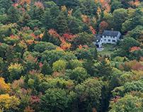 October in Maine