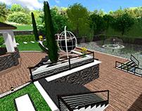 Design of landscape