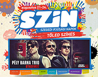 SZIN 2013 & 2014 Festival design