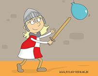 Illustrationen für Kinderbücher