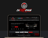 Сайт для компании по чипованию мощности автомобилей