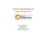 Heauristic Report and Design Alternative