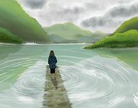 Scenic Illustrations - Digital Art