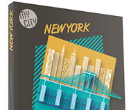 Travel guide cover designs