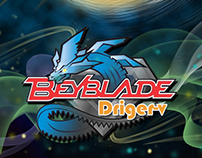 Beyblade Driger-V | 3D Modeling