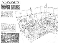 Dishonored Interior Design