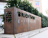 Brickyard Gastropub Signage