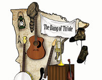 The Dang ol' Tri'ole EP Cover : Stumphole Water