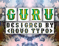 Guru - a new typeface of Novo Typo