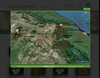 Telela de Ocampo | Atlas de Riesgos