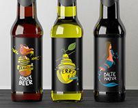 Beer Bottle Labels design