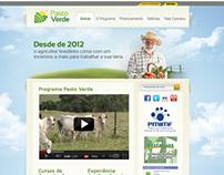 Logo e Site - Programa Pasto Verde