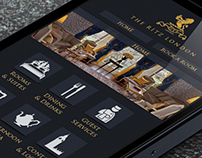The Ritz London Mobile Website