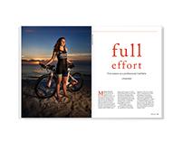 Full Effort - magazine feature design