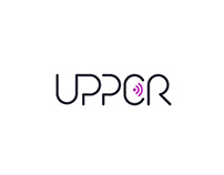 UPPER agency: logotype & style