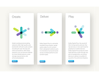 DOLBY | Sub-brand Identities & New Look-and-Feel