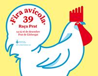 """Póster """"39 Fira avícola"""""""