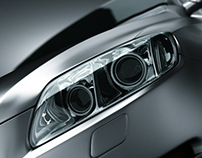 Audi Q7 Studio Lighting