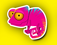Visualeads new mascot | visual QR code