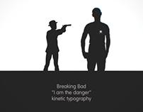 Breaking Bad Kinetic Typography