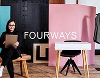 Fourways — Brand Identity