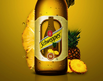 Schweppes Pineapple Flavor Ad