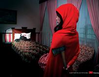 Print: 3M Polarizing Lamp - Little Red & Snow White