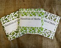 Handfuls of Herbs Cookbook - Final Major Project