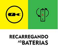 Nova Logo Recarregando as Baterias