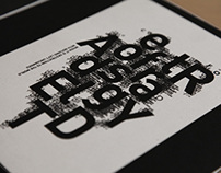crazy typography