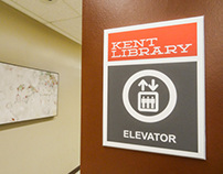 Kent Library Wayfinding System