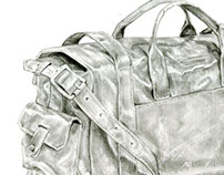 Graphite Groove: Bags and Shoes