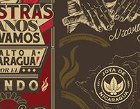 Joya de Nicaragua - Typography Murals