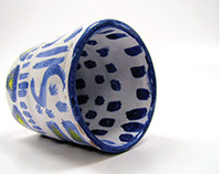 """Talavera"" Glass"