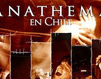 Afiche Anathema en Chile 2009