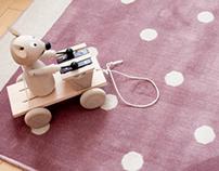 Cotton Kilims For Babies