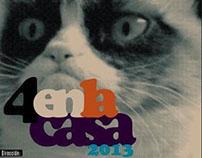 4 EN LA CASA 2013