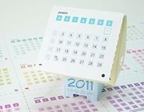 Papertoy calendar (2011)