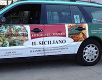 Publicidade Pizzeria Il Siciliano Cascais