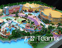 Physical Model of Theme Park